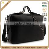CSLRB280-001 OEM/ODM High Quality Luxury Men Weekend Travel Real Leather Bag