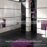 black polished porcelain tile, full body vitrified ceramic floor tiles, dream texture                                                                         Quality Choice