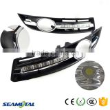 Car LED Daytime Running Light DRL For Volkswagen VW Passat B6 2007 2008 2009 2010 2011 Front Fog Lamp                                                                         Quality Choice