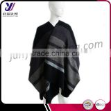 Ladies new design acrylic jacquard wool felt knitted shawls pashmina scarf factory wholesale sales (accept custom)