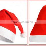 2015 Unique hot sale product handmade wholesale China decor blue craft ornament wool felt santa clause Christmas hats with light