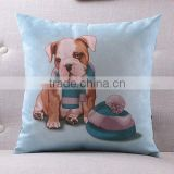 Digital printed velvet cushion cover for office chair