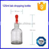 Lab glass dropper bottles with ground-in pipette and latex rubber nipple                                                                                                         Supplier's Choice
