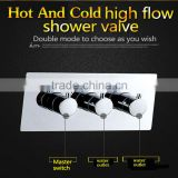 sanitary fitting high quality hot cold mixing water valve 2 way diverter water flow shower controller