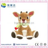 Plush Music and Lights Reindeer Soft Toy,Christmas Toy                                                                         Quality Choice