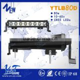80W Wholesale Cheap Led Light Bars Multifunctional Car Led Light Bar/ Police Emergency Amber light Led Offroad Light Bar