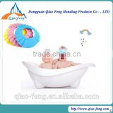baby shampoo shower cap bath hat for sell shower cap/shower cap making