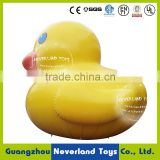 Popular Customized NEVERLAND TOYS Inflatable Water Toys Inflatable Fooating Toys Giant Yellow Rubber Duck Hot Sale