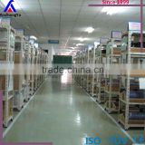 China supplier powder coating steel light duty angle iron shelf