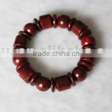 Artistic Red Sandalwood Beaded Bracelets 10mm
