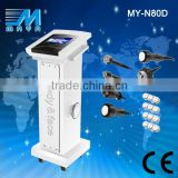 MY-N80D 2015 Chinese Best 7 In 1 Ultrasond Acne Removal Eyebrow Removal Liposuction Cavitation RF Multi-functional Slimming Beauty Equipment Anti-Redness Eye Line Removal
