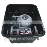 in ground durable fiberglass pump and filter for swimming pool/Combo filter system for swimming pool
