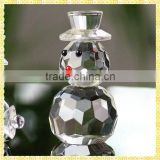 New Arrival Crystal Christmas Decorative Snowman For Christmas Gifts