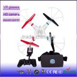 Wholesale New Product flying HD camera helicopter RC 2.4G 4-Axis professional wifi remote control vacuum chuck drone