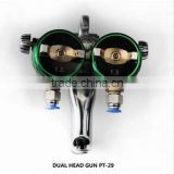 Liquid Image Double Head Spray Gun for Painting and Chroming