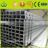 Best Price metal building materials galvanised 4x4 galvanized square metal fence posts square tube SHS rail cattle panel rectang