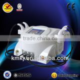 Hot sales KM-RF-U300C+ Multifunction 7s electric wrinkle remover machine with ultrasound face lift technology