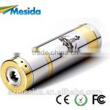 2014 high quality green smoke electronic cigarette nemesis stainless steel mechanical mod