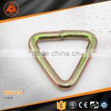 "3"" high quality manufacturer price triangle shape wire hook strap adjuster metal strap adjuster for lifting"