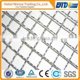 304/201 stainless steel double crimped wire mesh/ Galvanized shale shaker screen/ crimped type wire mesh