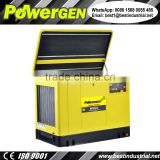 65 dB !!! POWERGEN Soundproof Water-cooled Lifan Automobile Grade Engine Super Silent Gasoline Generator 30KVA