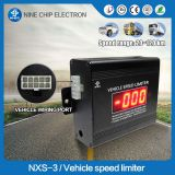 GPS and GPRS heavy truck/bus engine speed limit device
