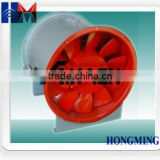 high efficiency low noise mixed flow fan