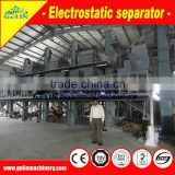 High Tension Electrostatic Plate Separator with DC High voltage rectifier and voltage control electrical pannel