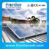 Frontier tin roof solar panel mounting racking system