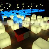 led cube light outdoor /party light/Party & Events furniture/ led cubic chair