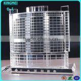 High grade Home Decorative Bussiness Gifts 3D High-rise Buildings Crystal Model