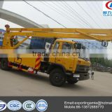 hot sale cheap 22m dongfeng crew cab truck mounted aerial work platform