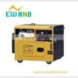 automatic welding machine cheap portable soundproof small 186f 5kv diesel electric welder generator