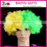 Afro wigs Halloween,Christmas,Carnival,cheerleaders,Costume party wigs adult children Curly Clown Disco Circus Costume dress up