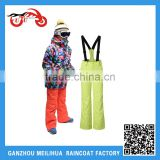 Factory OEM Wholesale Boys Winter Hooded Ski Jackets with Pants