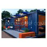 Modern Modified Container House Double / Single Glazing For Single Apartment