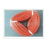 Silicone coated fiberglass tube 5mmID for electric insulation and  wire leads protection