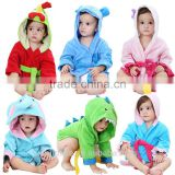 wholesale cotton robe children Kids hooded terry bathrobe