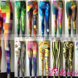 Whoelsale NO MOQ Limit 2013 new Cheap prints Galaxy Fashion Tights Leggings For Women Hot Pants