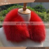 High Quality Real Fur Collar /Fur Garment Fox Fur Collar