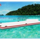 Factory price inflatable floating trak,inflatable water dock,inflatable boat dock for sale