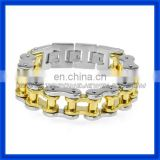 Noah's Ark wholesale stainless steel biker bracelets for men