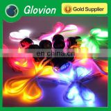 NEW light up led shoelace flat elastic shoelaces rechargable led shoelace
