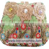 2015 fashion Crystal Rhinestone clutch Evening Bag clutch bag handmade women bag