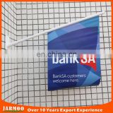 Custom shop promotion bank use wall advertising banner