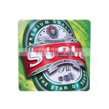 logo picture printed customized beer coaster collection