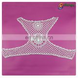 Water Soluble Cotton Embroidery Lace motif design Collars