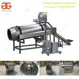 Industrial Fried Peanut Single Drum Seasoning Machine|Hot Selling Potato Chips Seasoning  Machine|French Fries Flavor