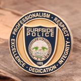 Surfside Police Challenge Coin