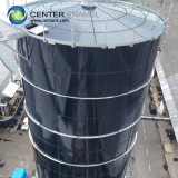 Bolted Steel Commercial Water Tank / 50000 gallon Industrial Water Storage Tanks